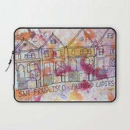 San Francisco Painted Ladies Laptop Sleeve