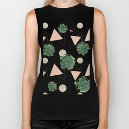 Lovely Succulents #redbubble #decor #buyart Biker Tank