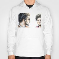 cyrilliart Hoodies featuring Rebels Without A Cause by Cyrilliart