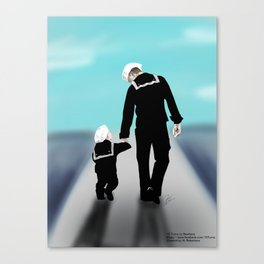 Future Path Canvas Print