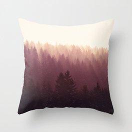 Chasing Light Throw Pillow