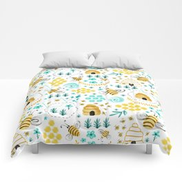 Busy Bees Comforters