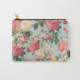 Floral B Carry-All Pouch
