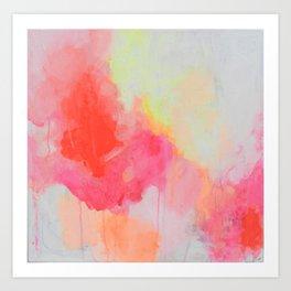 Orange You Glad Art Print