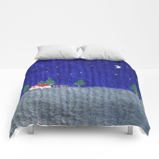 Night scenes Comforters