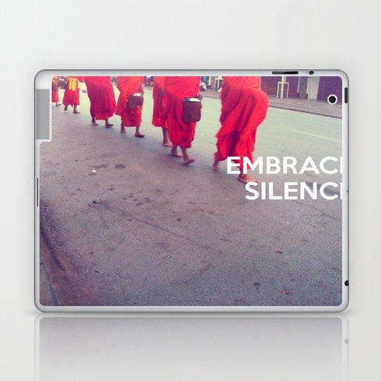 Embrace Silence Laptop & iPad Skin