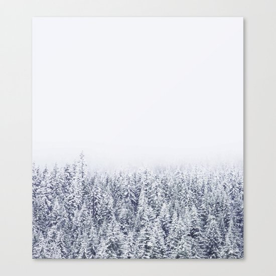 A Tale of Snow #society6 Canvas Print