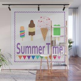 Summer Time Wall Mural