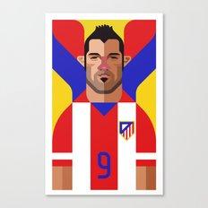 DV9 | Rojiblancos Canvas Print