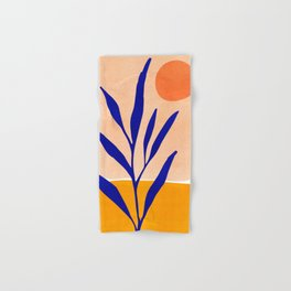 Golden Afternoon II / Abstract Landscape Hand & Bath Towel
