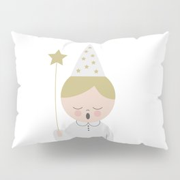 Singing boy with a star at Saint Lucy at Christmas Pillow Sham