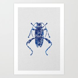 Blue Beetle IV Art Print