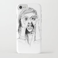 ellie goulding iPhone & iPod Cases featuring Ellie Goulding by Sophie Melissa