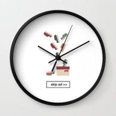 shoes ad Wall Clock