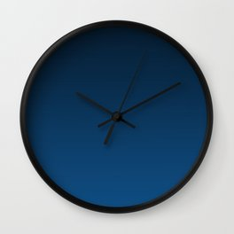 Shades of PANTONE Classic Blue Color Of The Year 2020 Wall Clock