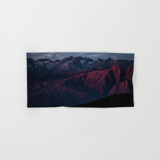 Mountain Landscape #sunset Hand & Bath Towel