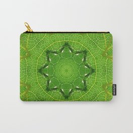 kaleidoscope image of leaf Carry-All Pouch