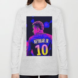 Neon Neymar Long Sleeve T-shirt