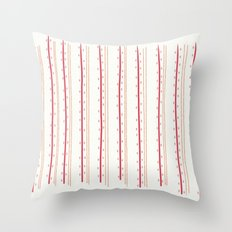 Stripes and Spots Throw Pillow