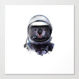 Astronaut Koala Canvas Print