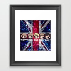 1D-952 Framed Art Print