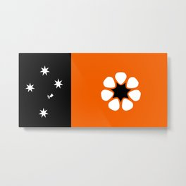 Northern Territories Flag Metal Print