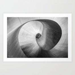 Upward Spiral Art Print