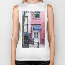 Old Greenwich Village apartment Biker Tank