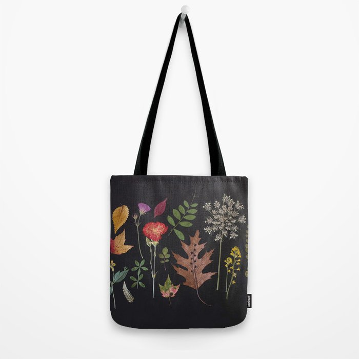 Plants + Leaves 4 Tote Bag