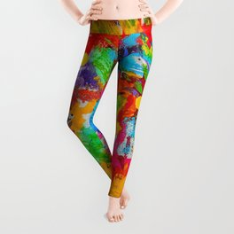 Blunt Force Tie Dye Leggings