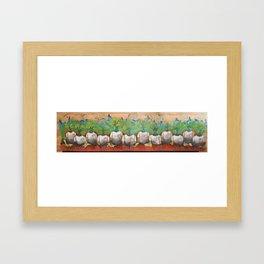 The 12 Who walked.  Framed Art Print