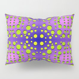 Polka dots in formation Pillow Sham
