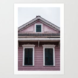 Windows Trio Art Print