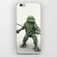 ninja turtle iPhone & iPod Skins featuring ninja turtle by aterg88