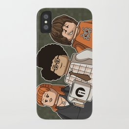 The Mini Crowd iPhone Case
