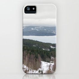 Lakeview in Norway iPhone Case
