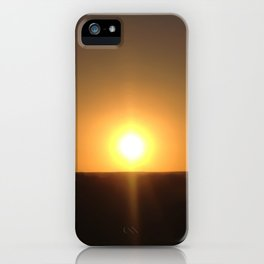 Sunset Seclusion iPhone Case