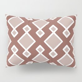 Moroccan Tile | Rustic Rose Pillow Sham