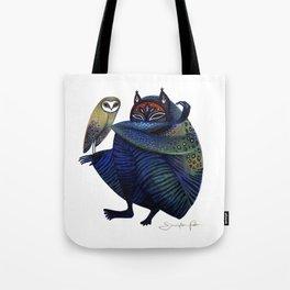 Owl & Spirit Tote Bag