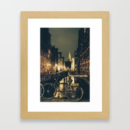 Amsterdam Bike Framed Art Print