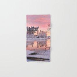 WINTER SCENE-3118/1 Hand & Bath Towel