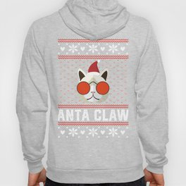 Funny Cat Ugly Christmas Sweater T-Shirt Hoody