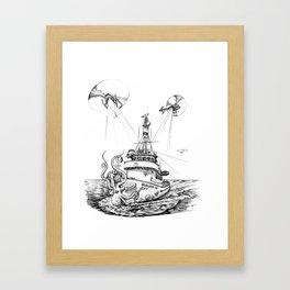 QUALIFIER 105 Framed Art Print