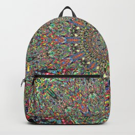 Mexican Difference Mandala Backpack