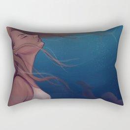 Black Lagoon/Huli Jing Rectangular Pillow