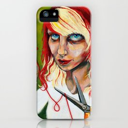 Free Will iPhone Case