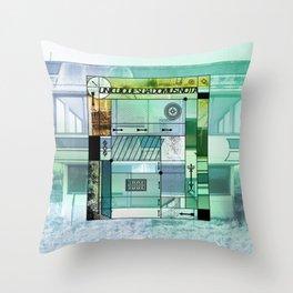 Unicuique sua domus nota B #everyweek 41.2016 Throw Pillow