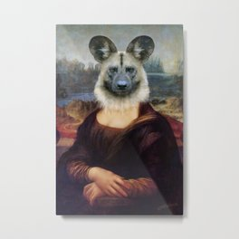 Wild Dog Mona Metal Print