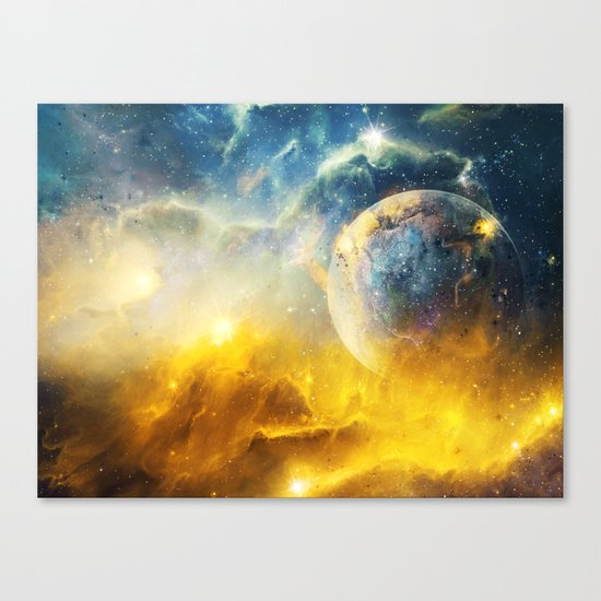 Dreaming the Stars Canvas Print