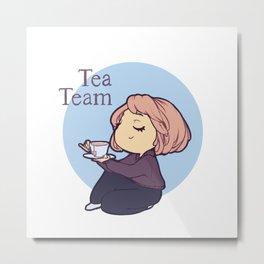 Tea Team Metal Print